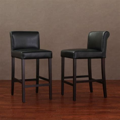 Cosmopolitan Leather Counter Stools by 25 Best Ideas About Black Counters On