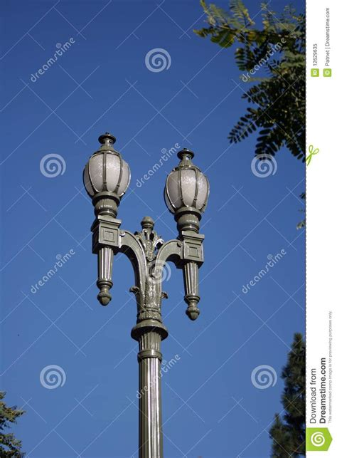 los angeles street lights los angeles street lights stock image image of antique