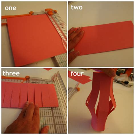 How To Make Lantern Using Paper - paper lantern tutorial today s creative
