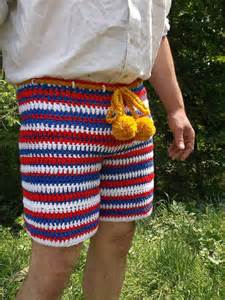 crochet shorts crochet shorts patriotic crochet shorts crochet by