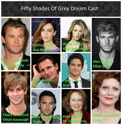 cast of fifty shades of grey interviews fifty shades of grey dream cast by malinmaya on deviantart