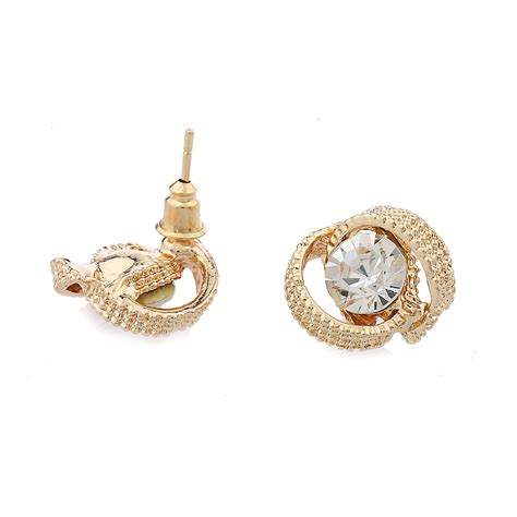 Best Metal For Jewelry Gold by 2016 Fashion Silver Earring Stud Jewelry Best Glass