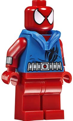Lego Scarlet Spider Brick Minifigure heroes spider brickset lego set guide and