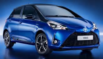 2017 toyota yaris hybrid is unveiled push evs