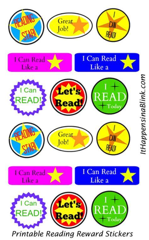 Design Own Wall Sticker printable reading reward stickers