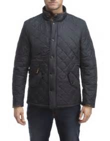 barbour s powell quilted jacket navy country attire