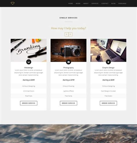 drupal one page themes 9 best images about 9 of the best one page drupal themes