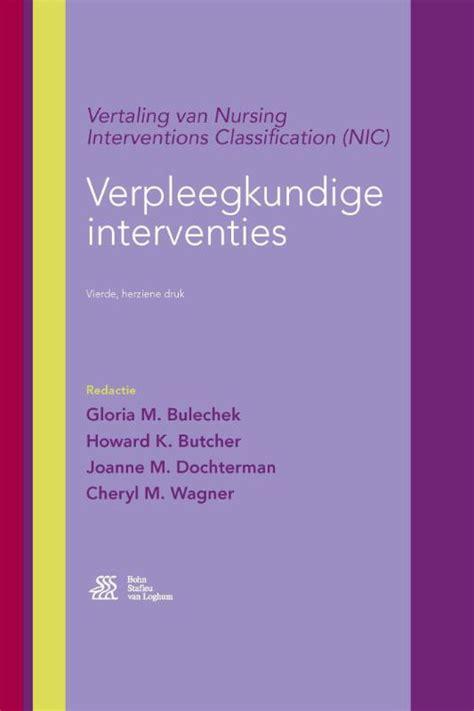 Paket Nursing Interventions Classification Nic Ed 6 bsl shop verpleegkundige interventies