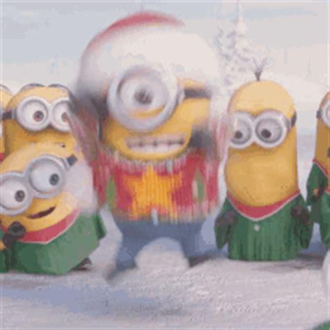 minions christmas gifs tenor