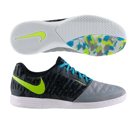 nike indoor soccer shoes nike fc247 lunar gato ii premium indoor soccer shoes wolf