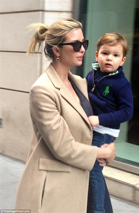 Ativanka Kid Set ivanka wearily steps out in new york with joseph after controversial instagram tbt