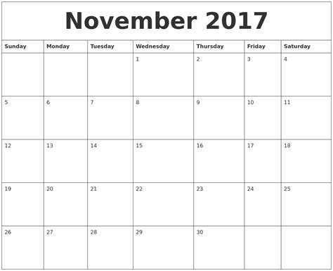 Calendar I Can Type On 2017 November Calendar You Can Type On Calendar 2017