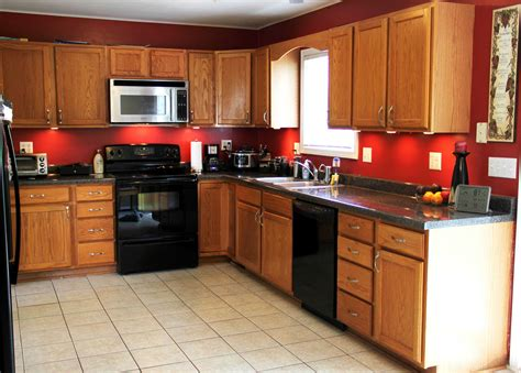 kitchen paint colors 2018 with golden oak cabinets most