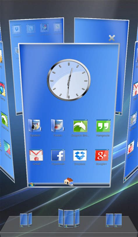 computer themes launcher next launcher theme desktop pc