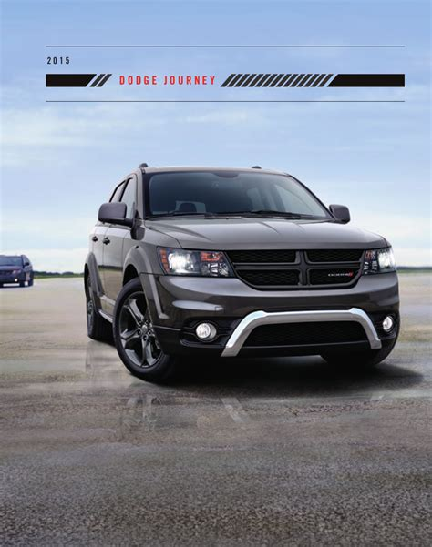 2015 chrysler journey chrysler 2015 dodge journey sales brochure