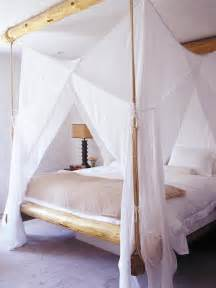 In magnificent girls wood canopy bed with attractive design ideas