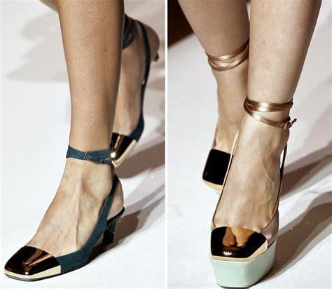 Questionable Trend Alert Open Toed Booties by My True Options Trend Alert Metal Cap Toe Shoes