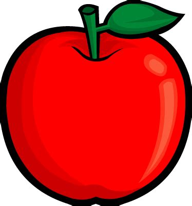 apple clipart fruit clip free clipart of fruits apple