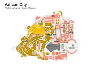 Vatican City Map Outline by Vatikanstadt Kapital Karte