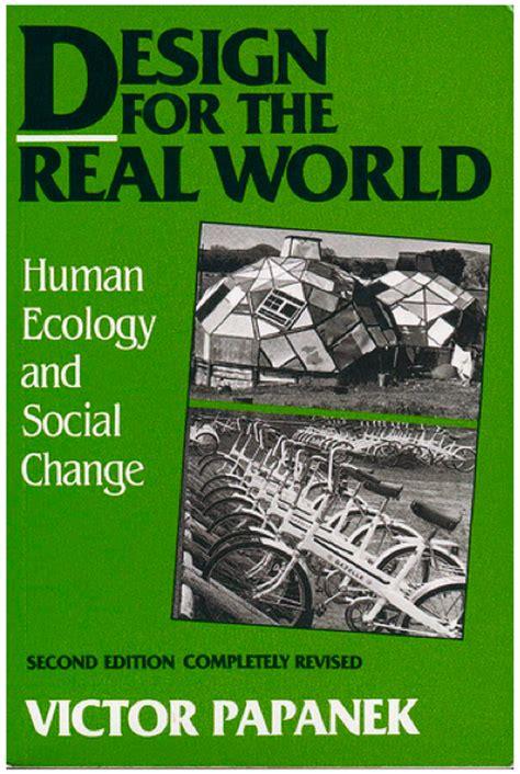 design ecologies journal spatial agency victor papanek