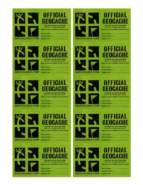printable geocache labels untitled document www kitnkai com