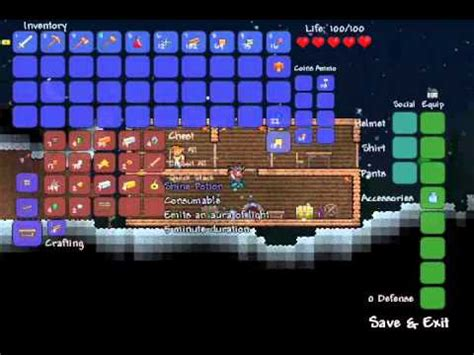 how to make a bed in terraria let s play terraria sp how to make a bed part 4 youtube