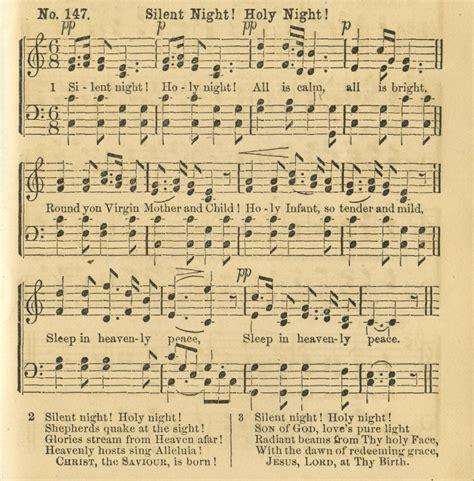 printable sheet music silent night silent night holy night young translation
