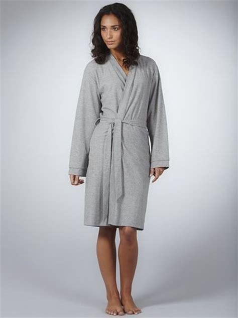 Dear Fashion Mias Robe by Lewis Jersey Robe Grey In Gray Grey Lyst