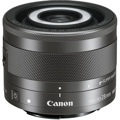 canon ef m 28mm f 3 5 macro is stm lens 1362c002 b h photo