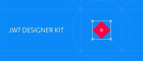 Jw7 N design branded skins with jw7 designer kit jw player