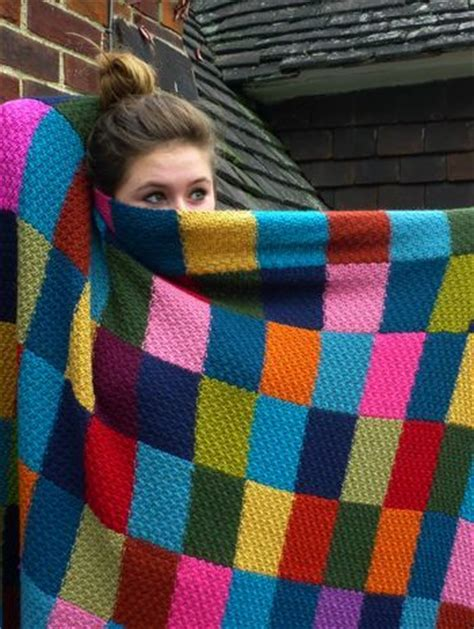 Knitted Patchwork Throw Pattern - top 25 ideas about knitted on jumpers cozy