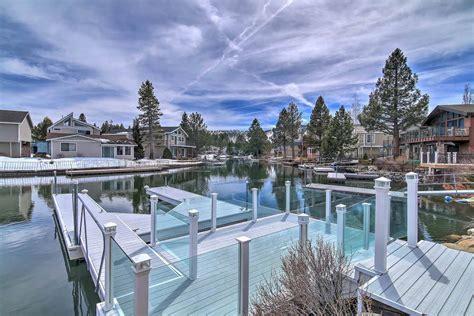 boat slip south lake tahoe large waterfront home w private boat slip in tahoe keys