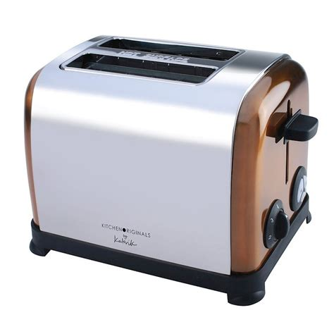 Range Toaster kalorik kitchen originals copper 950w 2 slice toaster