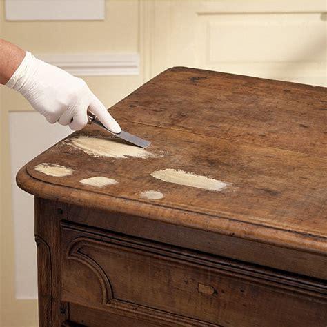 renover une table en bois 4622 comment reboucher des trous et fissures sur un meuble en