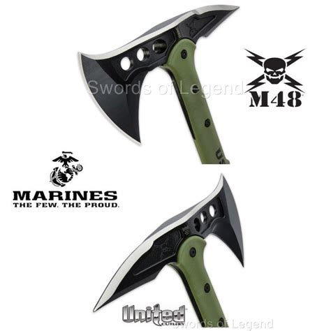usmc tactical tomahawk m48 usmc tactical tomahawk with sheath licensed by