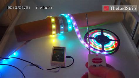 color changing led strip lights with remote waterproof dream color flexible led strip light with