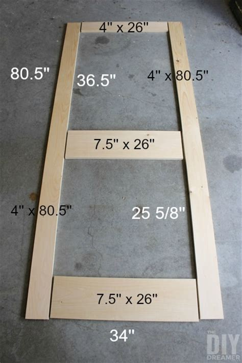 How To Build A Wood Shed Step By Step by How To Build A Screen Door Diy Screen Door