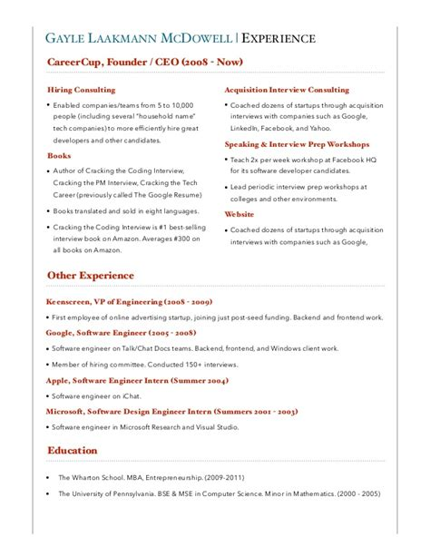 careercup resume template whats a resume look like how does a resume look
