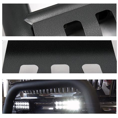 removable led light bar 99 06 chevy silverado tahoe avalanche suburban black
