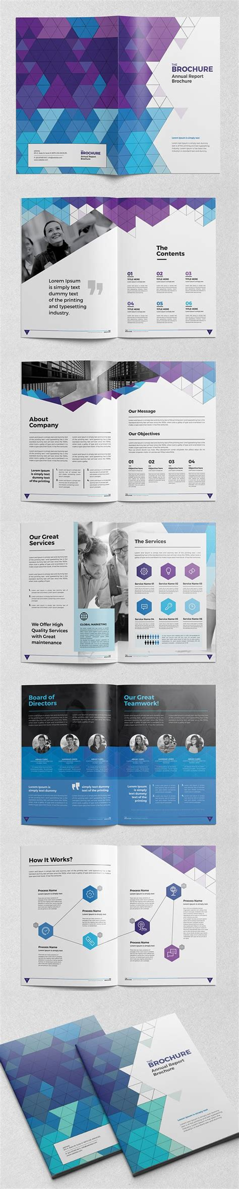 brochure indesign templates abstract brochure catalog indesign template booklet