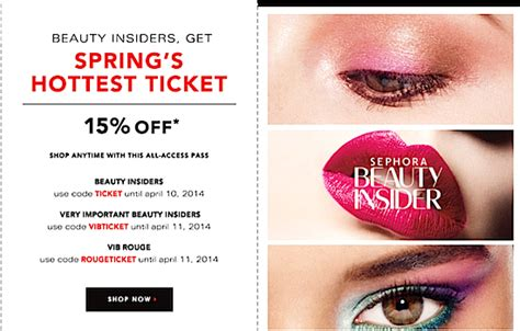 tattoo junkee cosmetics discount code discount promo code coupon sephora spring beauty insider