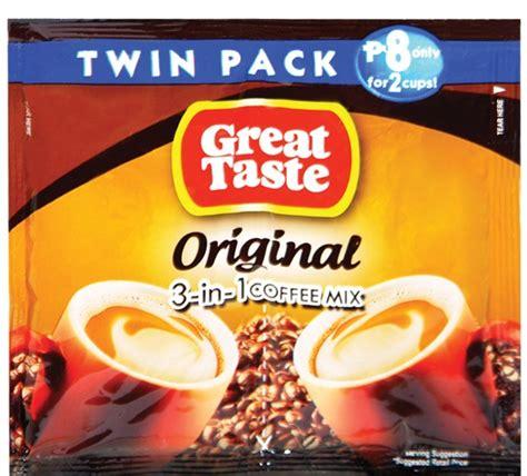 White Coffee 1 Pack great taste coffee 3 in 1 original pack 33g 6