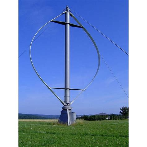 vertical wind turbine technology the darrieus type
