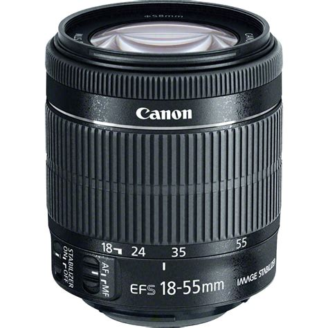 Baru Lensa Canon Efs 18 55mm canon ef s 18 55mm f 3 5 5 6 is stm lens 8114b002 b h photo