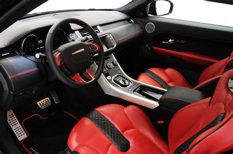 customized range rover interior evoque tuning hamann images