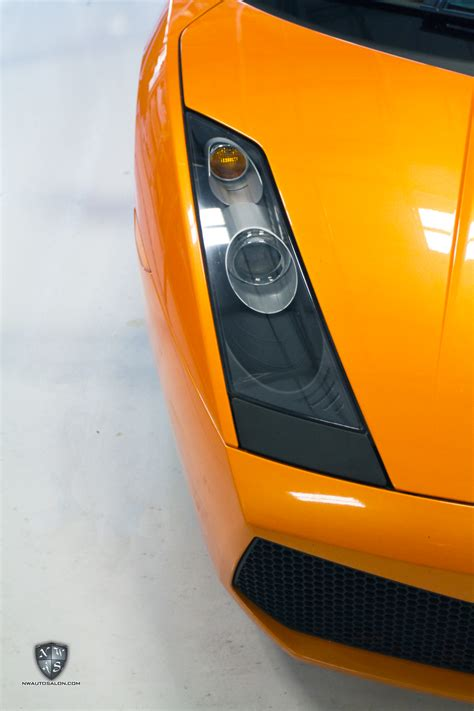 Lamborghini Gallardo Headlights Lamborghini Gallardo Headlight Restoration Protection