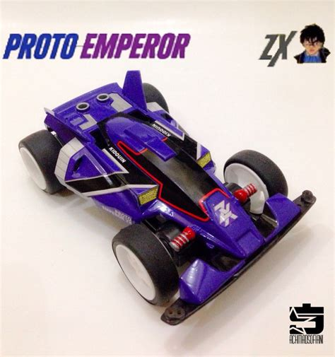 Tamiya Vanguish Jr Mic Series Type 5 Chassis proto emperor mini 4wd racing series emperor