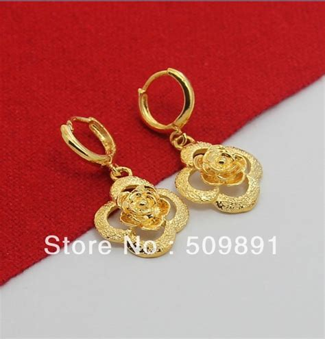 New Trend 24k Gold Nersels Designer Trendy Gold Jewelry by E510 New Trendy 24 Carat Gold Colou Jewelry