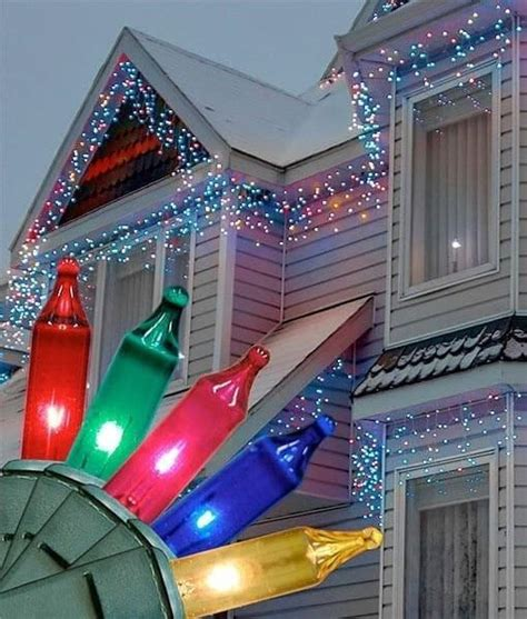 icicle lights multicolor 100 bulbs 6 5 the light emporium led