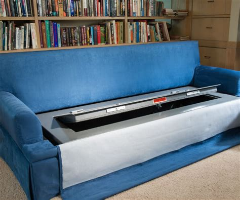 hidden sofa bed couch bunker hidden safe sofa bed cool sh t i buy
